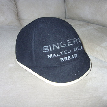 1930s singer malted milk bread employee hat - Hats