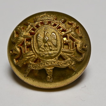 Second Mexican Empire uniform button? - Military and Wartime
