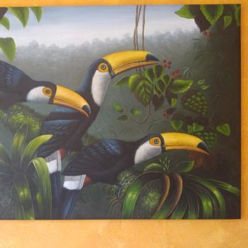 Toucan painting - Fine Art
