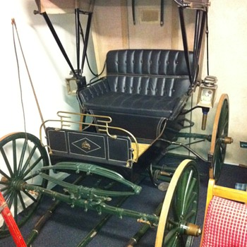 1890s Piano Box Buggy with Hood - Classic Cars