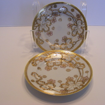 Nippon plates. - China and Dinnerware