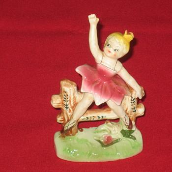 Girl Ceramic - Figurines