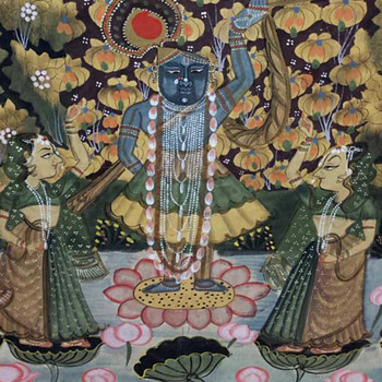 Pichwai of Lord Krishna  - Fine Art