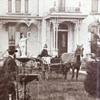 Amazing Victorian (Hand Pump Fountain) Framed Photo