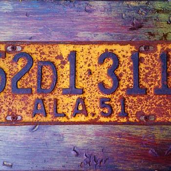 Alabama 1951, 1950 - Signs