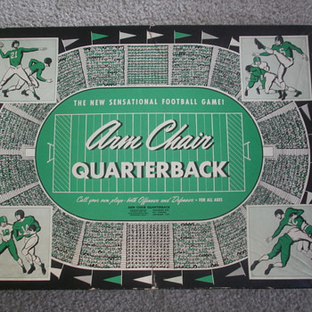 1955 arm chair quarterback game - Games