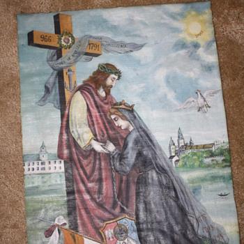 Mystery Jesus Painting