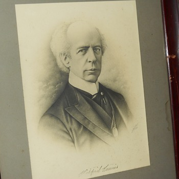 "Post 1 of 3 Wilfrid Laurier Etching""Adams"" Circa 1909, Happy Canada Day's, CW Members"