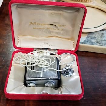 Vintage hearing aid - Electronics