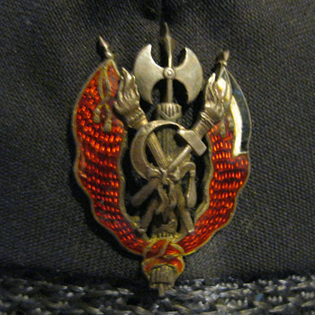 Prussian Communist badge post WW I - Medals Pins and Badges