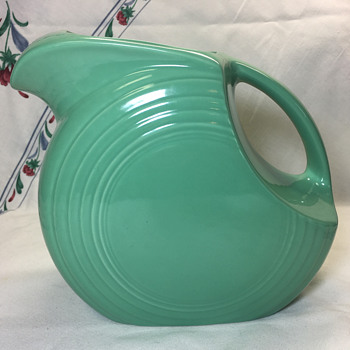 Fiesta Art Deco Water Pitcher - Kitchen