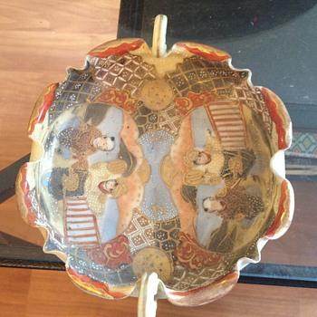 Chinese Japanese Asian ashtray antique bowl - Asian
