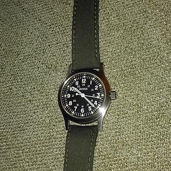 Benrus reissue of Viet Nam era military watch