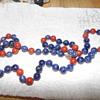 Beautiful Necklace/Closonne/Carnelian/Lapis