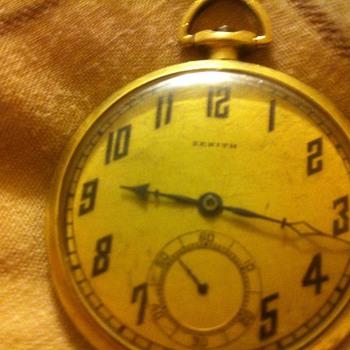 Zenith pocket watch - Pocket Watches