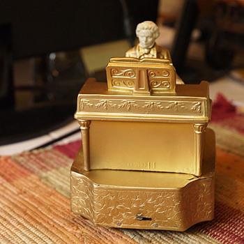 1932 J. B. Hirsch Beethoven Music box, J Rhul
