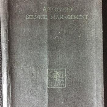 G M service management book. - Books