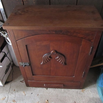 Antique Wood Box - Furniture