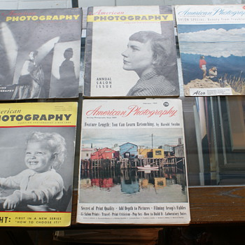 Vintage Photography Magazines (1950's)