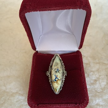 Ring with a hunting theme.  - Fine Jewelry