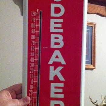 WOW! Studebaker thermometer!!