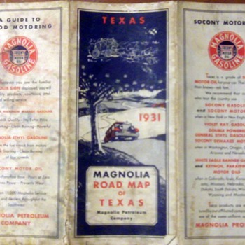 Vintage Road Maps 2  - Petroliana