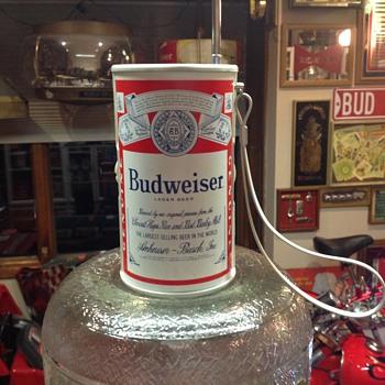 Budweiser can radio  - Breweriana
