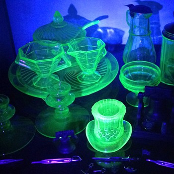 I don't have many pieces, but i like them a little outside cups, saucers, and drinking glasses. - Glassware