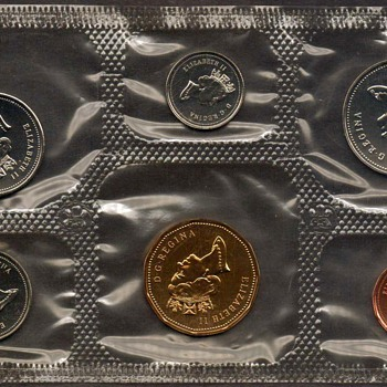 1995 - Canada Proof-Like Coins Set - World Coins