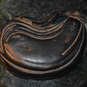 Carved Wooden Sack Stand - Japan - Folk Art