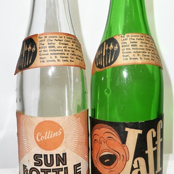 Sun Bottle / Laff Cola - Bottles