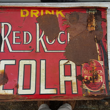 Red Rock Cola - Signs