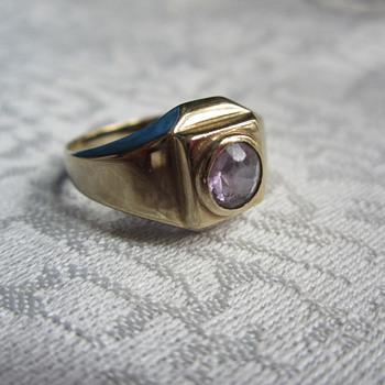 Simple Amethyst Ring - Fine Jewelry