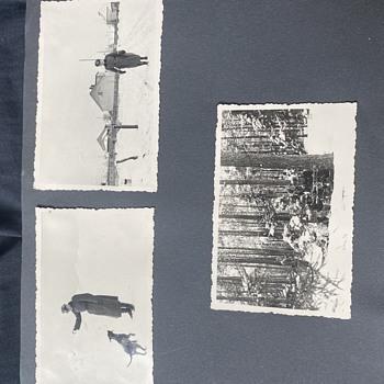 WW2 German photo album  - Military and Wartime