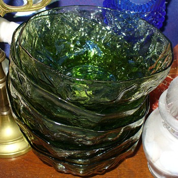 Anchor Hocking Milano Lido Avocado Glass - Glassware