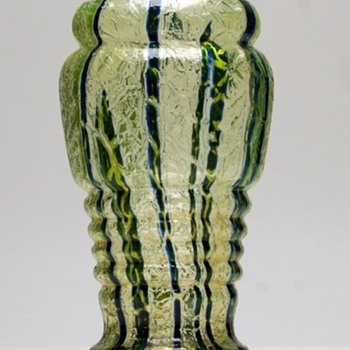 Kralik - Bambus Crackle - Art Glass