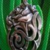 Circa 1900-1915 Silver Art Nouveau Pendant