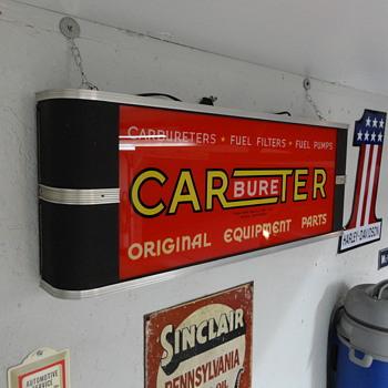 Carter Carbureter Sign - Signs