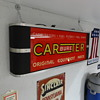 Carter Carbureter Sign