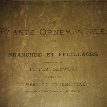 La Plante Ornamentale Branches Et Feuillages  - Books