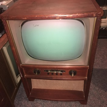 60's Fleetwood TV - Electronics