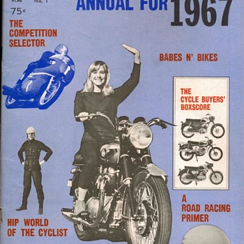 """Official Motorcycle Annual For 1967"" Magazine - Paper"