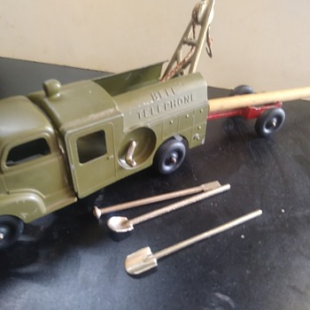 Hubley Telephone Truck - Toys