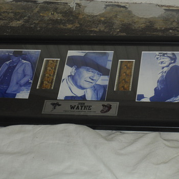 John Wayne Original Filmcell limited edition #364:1000