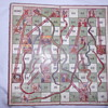 Old Snakes and Ladders  board.