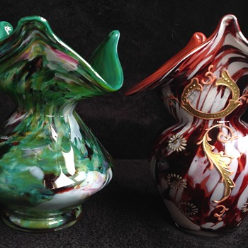 2x Welz vases? - Art Glass