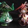 2x Welz vases?