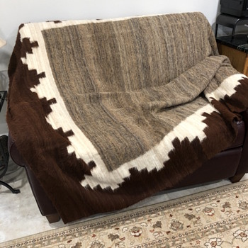 "Inherited ""Native"" blanket - Rugs and Textiles"