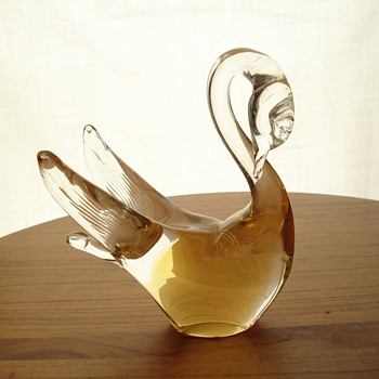 FORMIA vetri DI MURANO GLASS swan - Art Glass