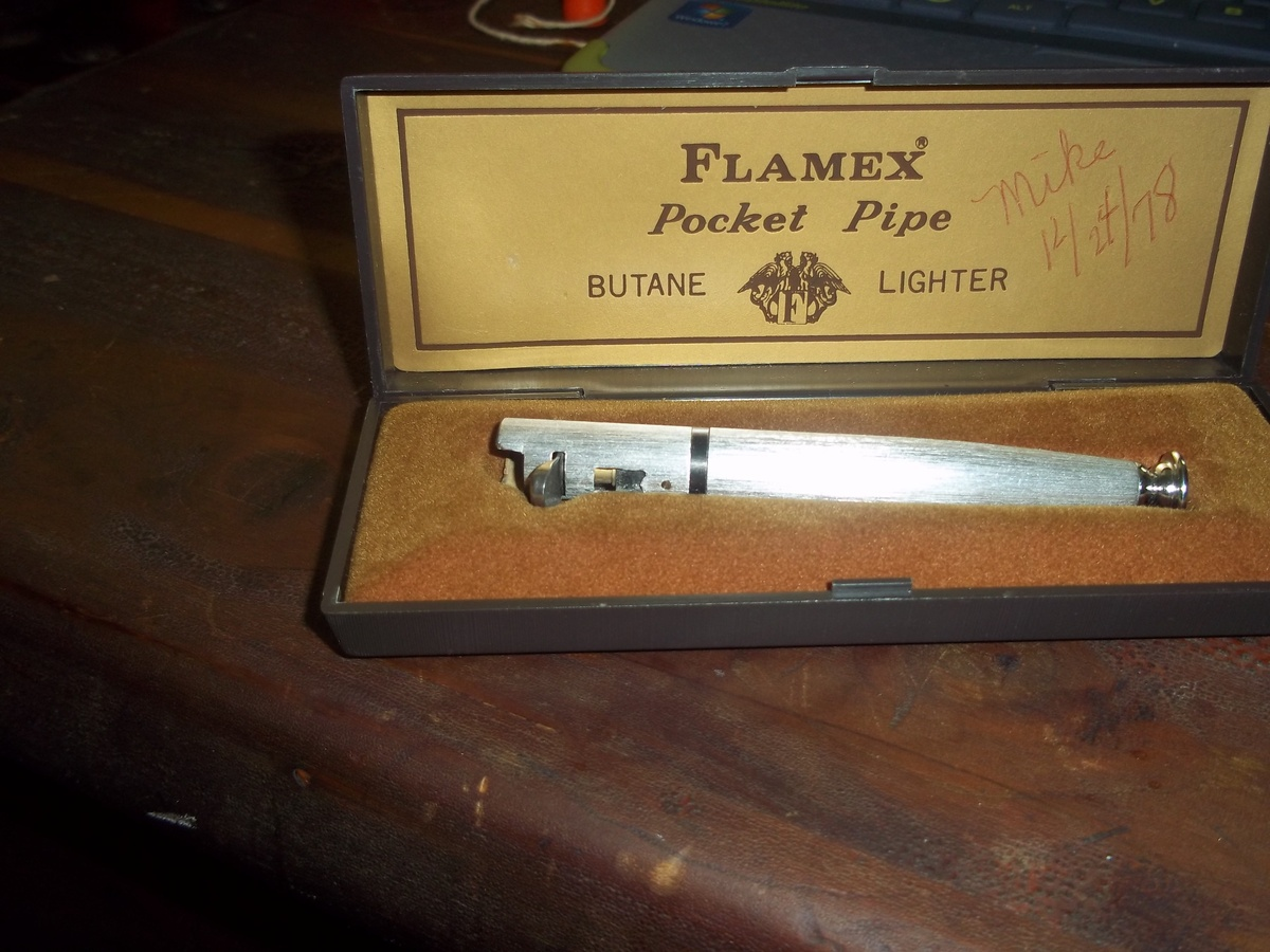 flamex pocket pipe butane lighter | Collectors Weekly